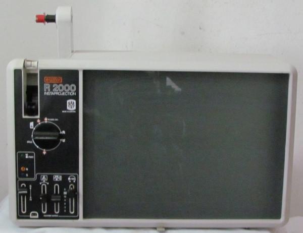 Filmprojektor EUMIG R 2000 Instaprojection mit Anleitung und Gewährleistung